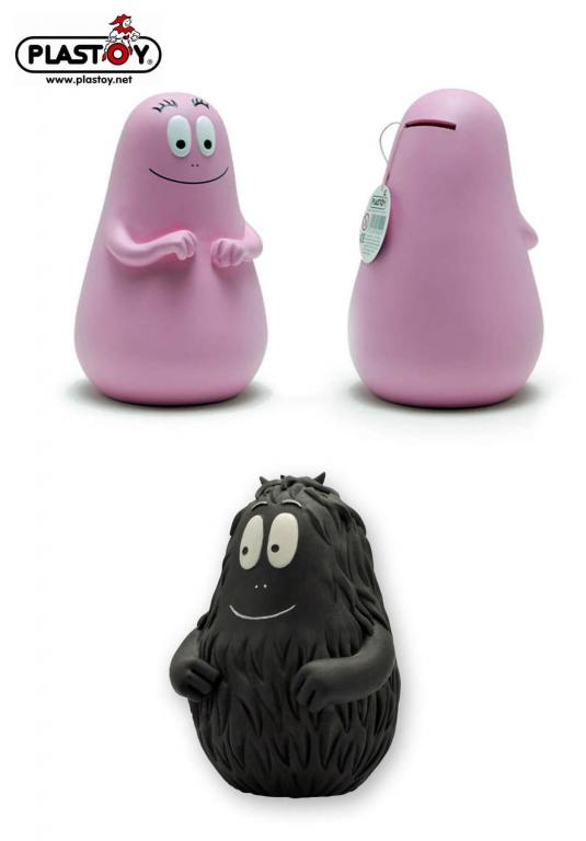 Tirelires Barbapapa & Barbouille