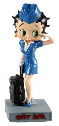 Betty Boop - Hôtesse de l'Air