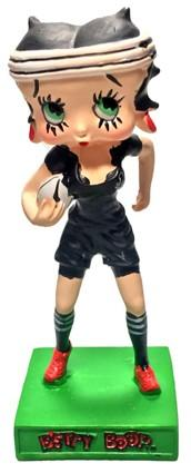 Betty Boop - Joueuse de Rugby