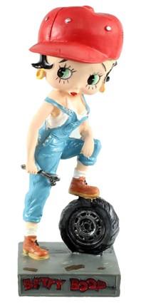 Betty Boop - Mécanicienne