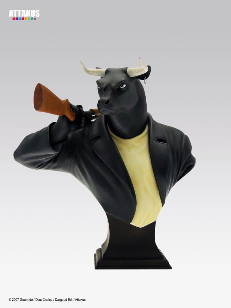 Attakus - Blacksad - Black bull