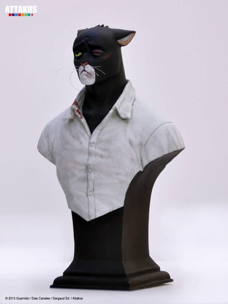 Attakus - Blacksad - Blacksad gueule cassee