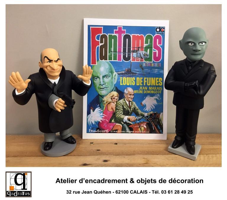 Louis de Funès & Jean Marais - Fantomas