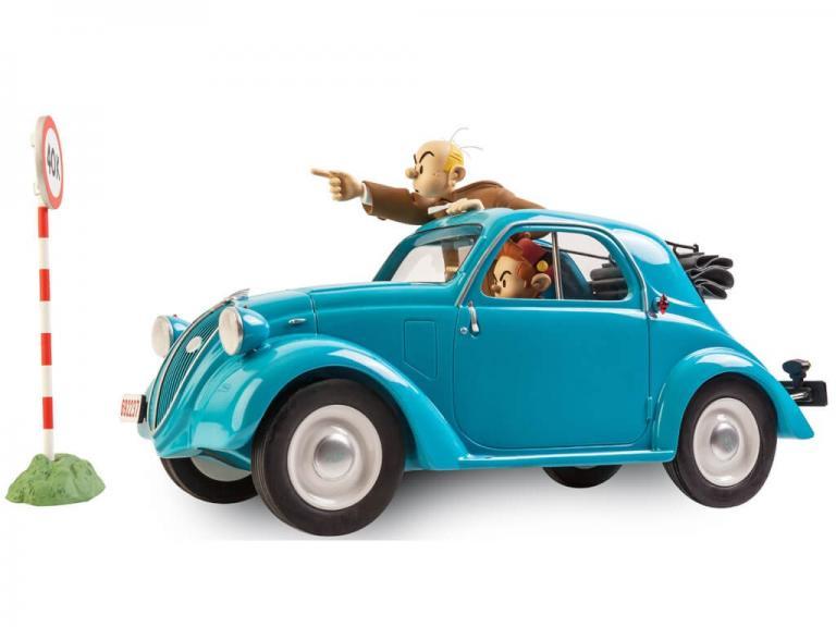 Figures & Vous - Garage de Franquin - Fiat Topolino 1937