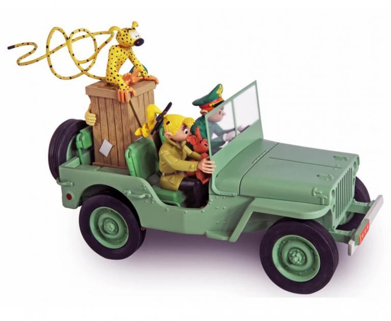 Figures & Vous - Garage de Franquin - Jeep Wyllis MB