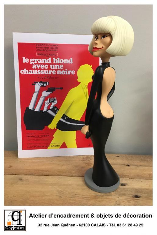 Mireille Darc - Le Grand Blond avec une Chaussure Noire