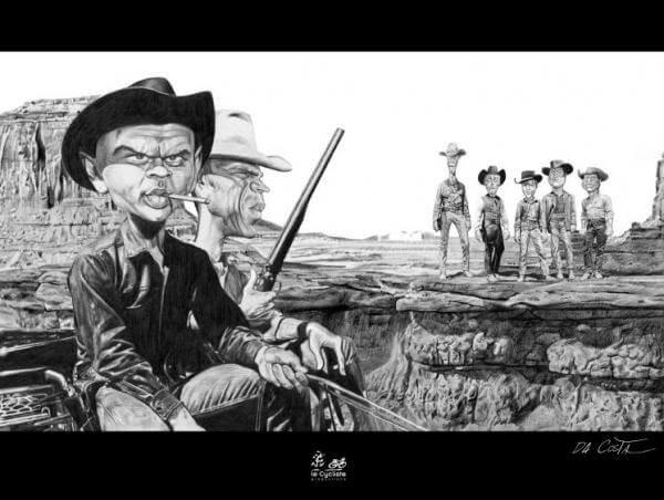 Les 7 Mercenaires - da Costa
