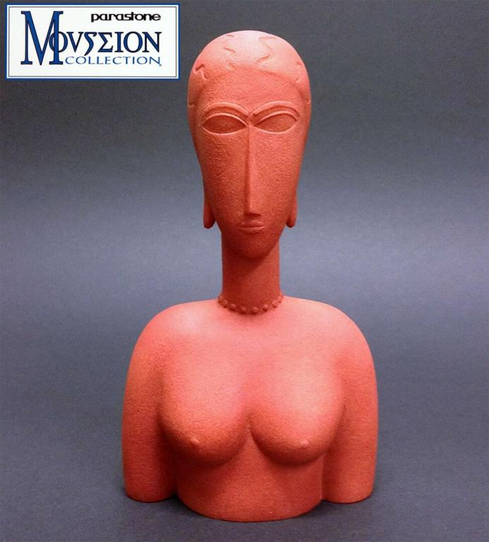 Modigliani - Buste Rouge