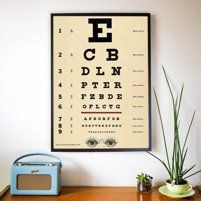 13 - Planche d'Ophtalmologie