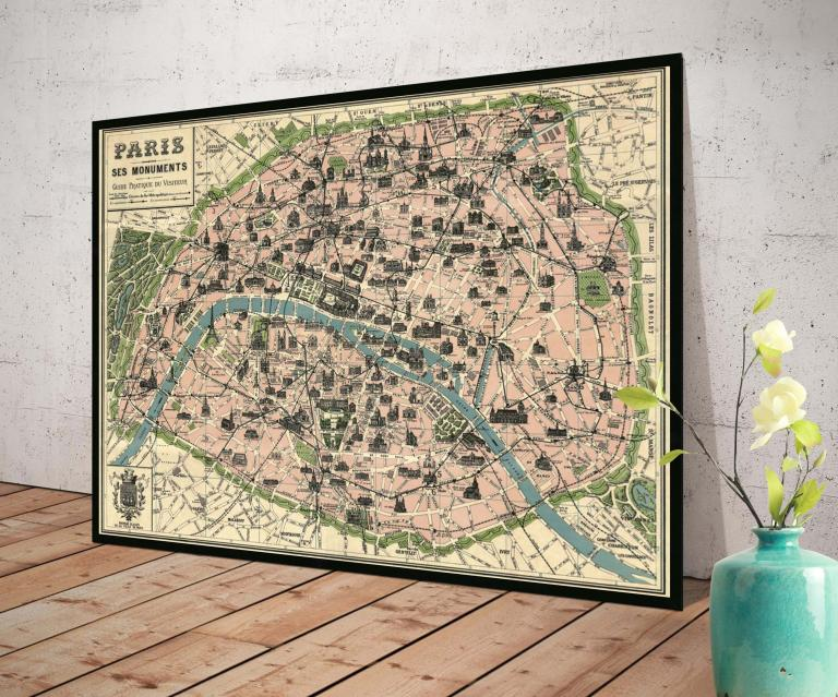 7 - Plan de Paris