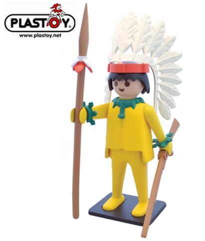 Plastoy Collectoys Playmobil Chef Indien