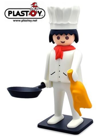 Plastoy Collectoys Playmobil Chef