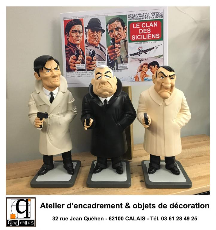 Alain Delon, Jean Gabin & Lino Ventura - Le Clan des Siciliens