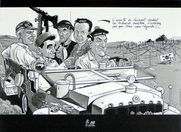 Un Taxi pour Tobrouk - Vallée